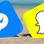 تحديث ماسنجر فيسبوك النسخة الجديدة من سناب شات