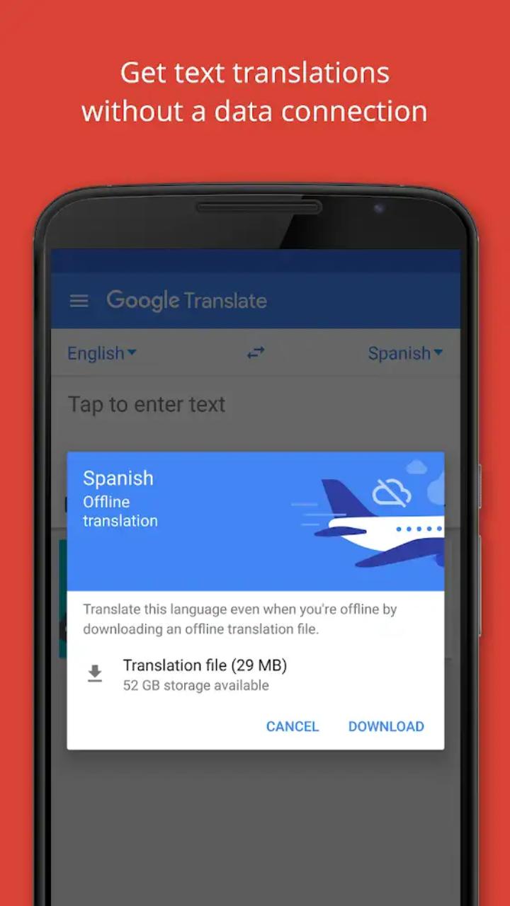 تحميل برنامج ترجمة قوقل الفوريه Google Translate للاندرويد و