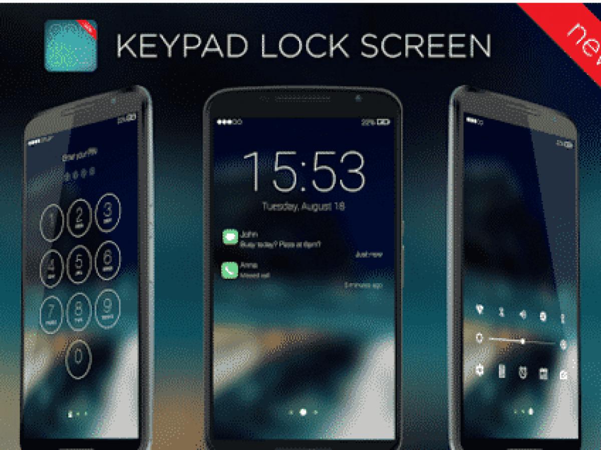 أفضل تطبيقات قفل الشاشة على أندرويد Keypad Lock Screen كيف تقني