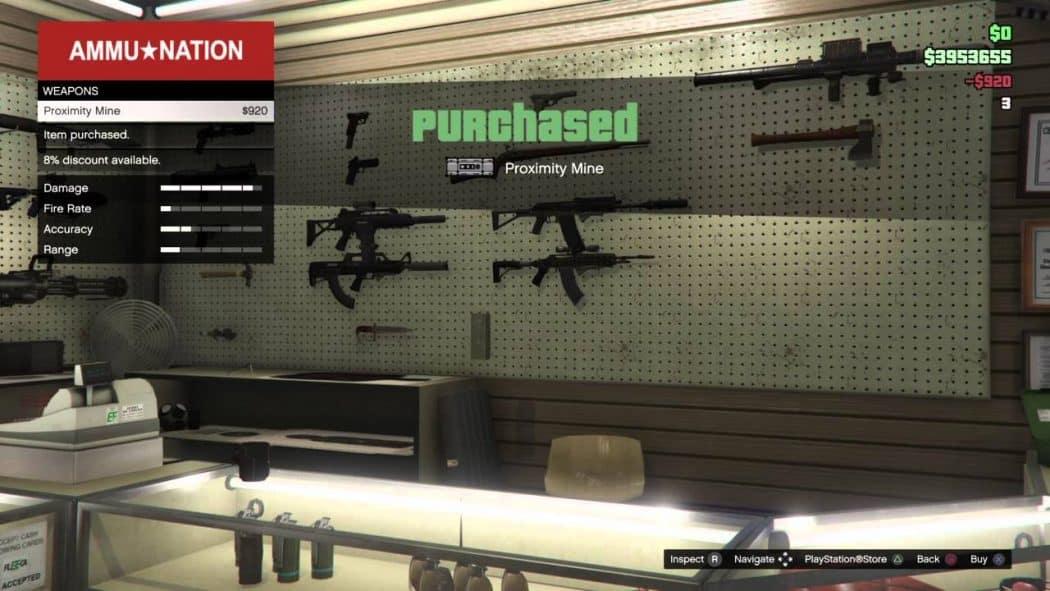 اضافة اسلحة جديدة في لعبة جاتا 5