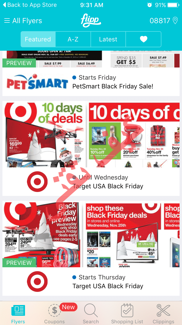 Flipp black friday ads