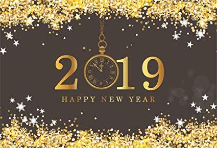 سنة ميلادية جديدة 2019