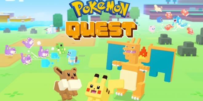 تحميل لعبة بوكيمون كويست Pokemon Quest