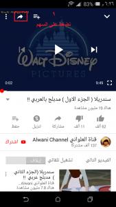 تحميل فيديو من يوتيوب