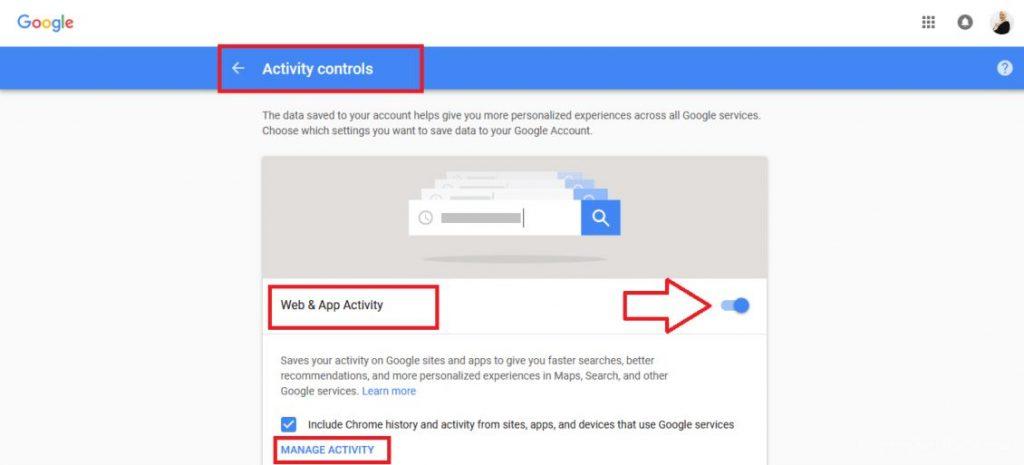لكي تعمل على ايقاف تتبع قوقل يجب مسح الكاش وايقاف مزامنة جوجل كروم