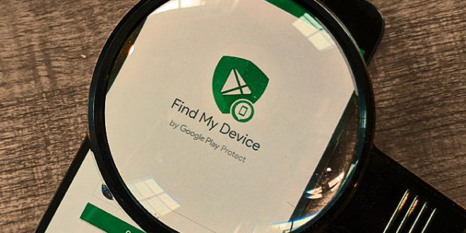 تطبيق Find My Device