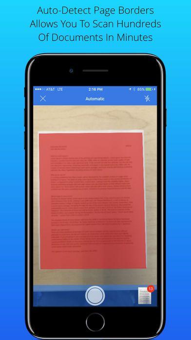 تحويل الصور إلى ملفات PDF ، Scan My Document - PDF Scanner